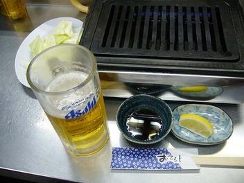 20090630kirakutei_beer