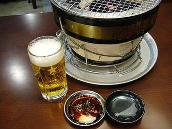 20090821nikuyakiya_beer