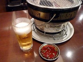 20091024nikuyakiya_beer