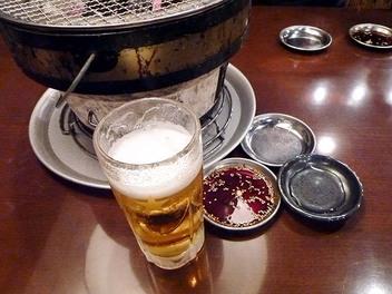20091106nikuyakiya_beer