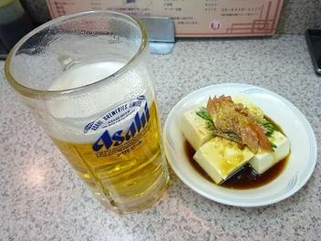 20100311taiyouken_beer_hiyayakko